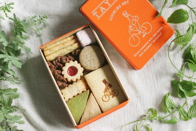 TAYORI オリジナルクッキー缶 次回入荷日2021年1月15日 18:00予定