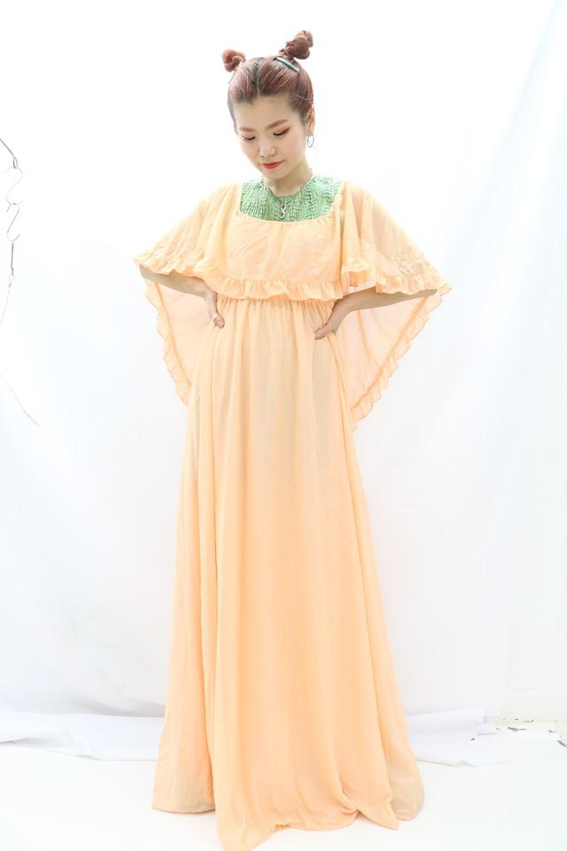 ruffle collar dress / 4SSOP28-11