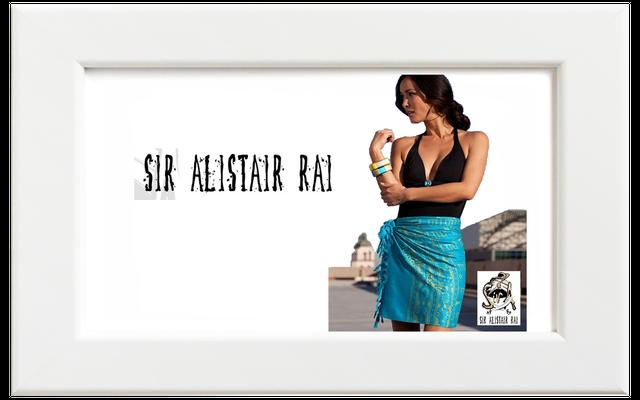 Sir Alistair Rai/サー・アリステア・レイ Trimantraa blissful スカーフ