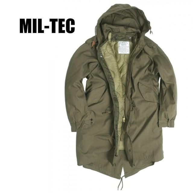 【MIL-TEC】 M-51 フィールドパーカ 〈Olive Drab〉