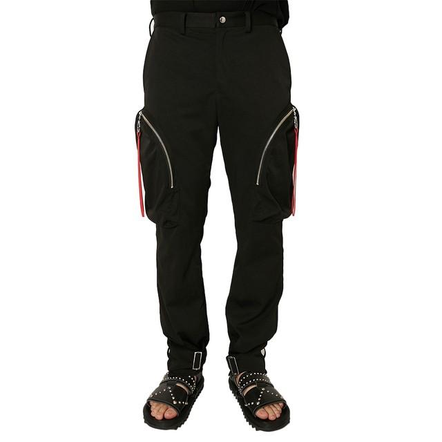 ALMOSTBLACK Pocket Cargo Pants