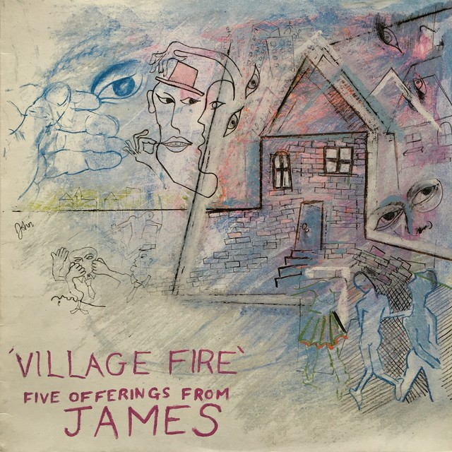 【12inch・英盤】James / Village Fire - Five Offerings From James
