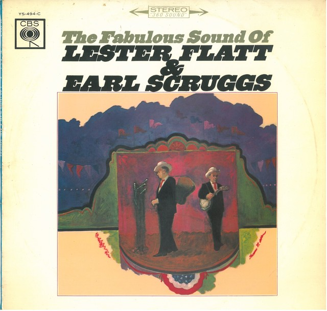 THE FABULOUS SOUND OF LESTER FLATT & EARL SCRUGGS (LP) 日本盤