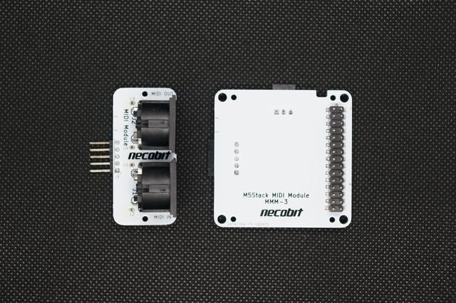 M5Stack用MIDIモジュール(ケース無し)
