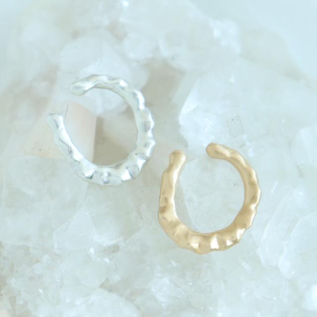 Ear Cuff / Frill Oval