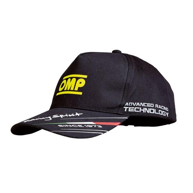 PR918071  Lightweight cotton OMP cap (Black)