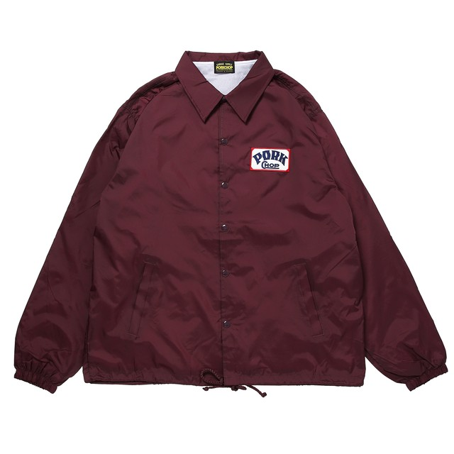 PORK BACK COACH JKT/MAROON