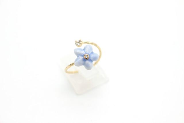 有田焼リング flower 1