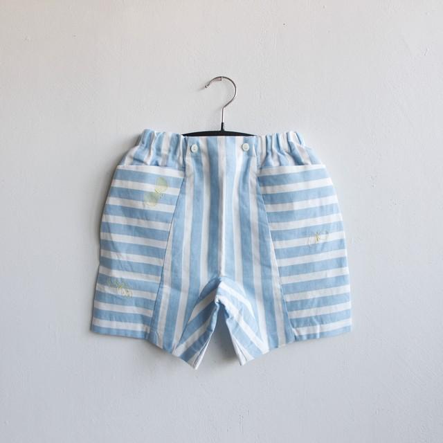 《mina perhonen 2021SS》choucho ショーツ / blue / 80-110cm