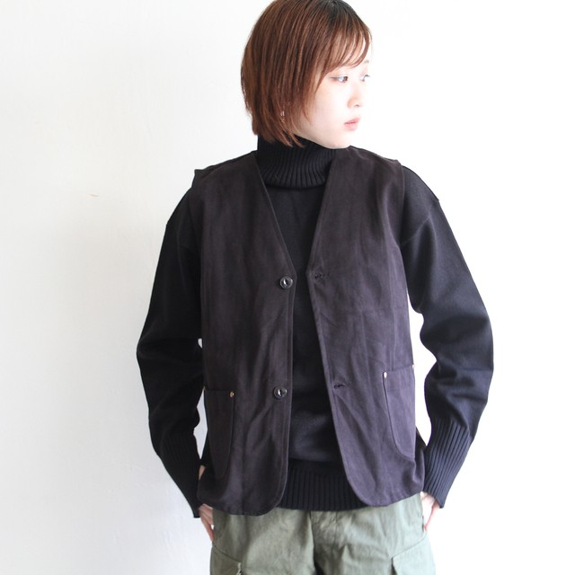 quitan【 mens 】turkmen stripe vest