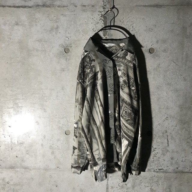 [used] artistic palce designed shirt