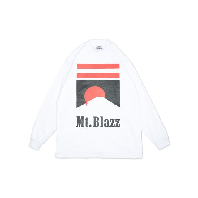 M't Blazz PROCLUB HEAVY L/S TEE [WHITE]
