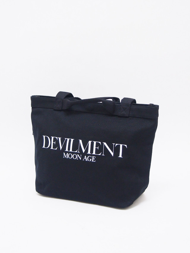 Moonage Devilment (ムーンエイジデビルメント) PRINT ECO BAG / BLACK mac-0382-1