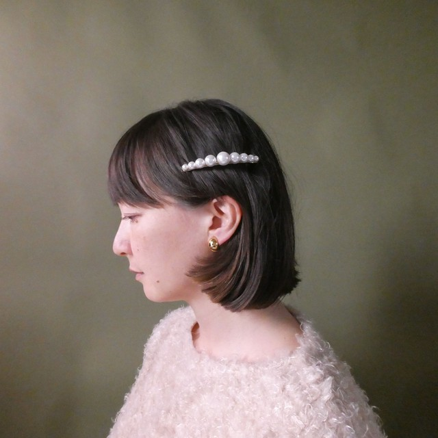 the knit + vintage collection 4 the pearl hair clip edition 4