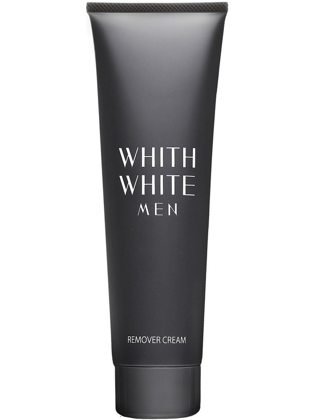 WHITH WHITE MEN メンズ 除毛クリーム 陰部 使用可能 200g