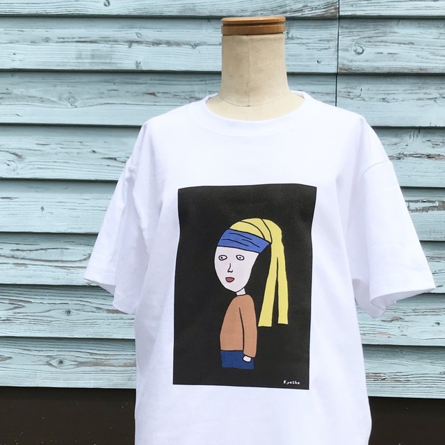 【巨匠動物園】青いハチマキの子Tシャツ