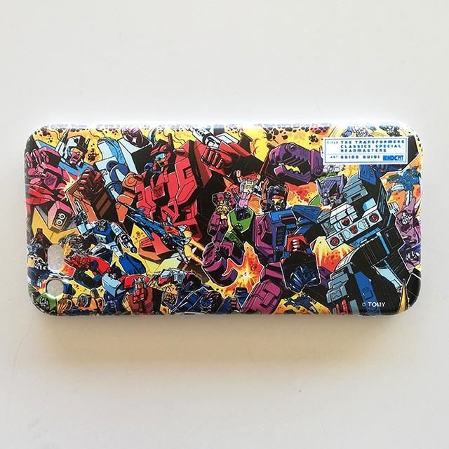 【特製ステッカー付】【予約注文商品】HERO-X PIT「トランスフォーマークラシックス・スペシャル:ヘッドマスターズ」ソフトiPhoneケース