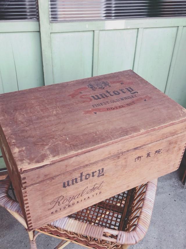 サントリー木箱  2