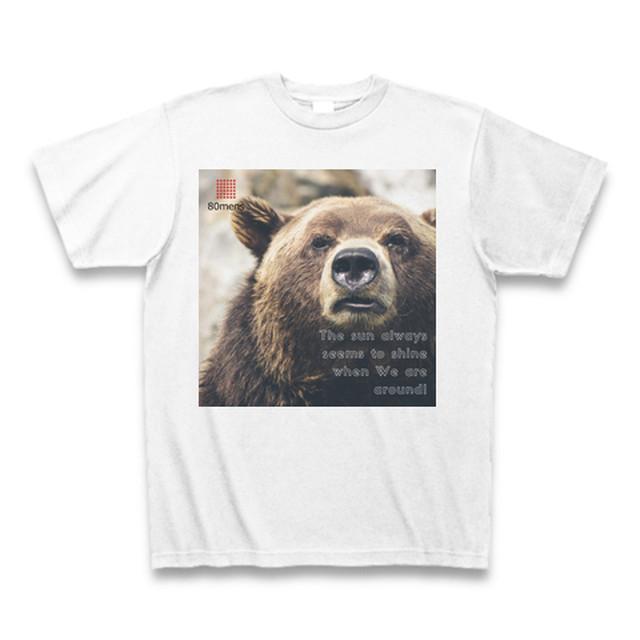 80mens Tシャツ/ベアーモデル2018