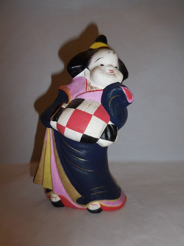 こけし人形 Kokeshi doll(Matagoro signature)(No8)