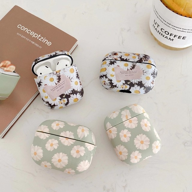 Graceful flowers airpods 1/2 Pro case