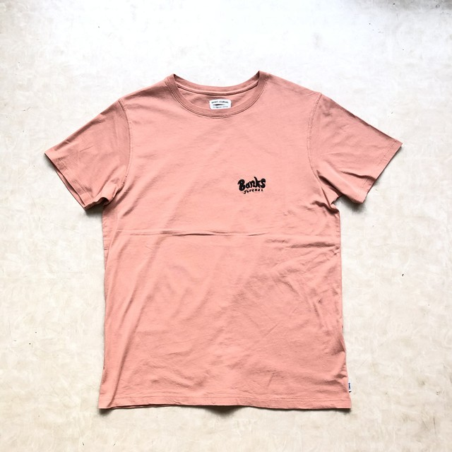 BANKS JOURNAL バンクスジャーナル RETURN Tシャツ オールドローズ ATS0341