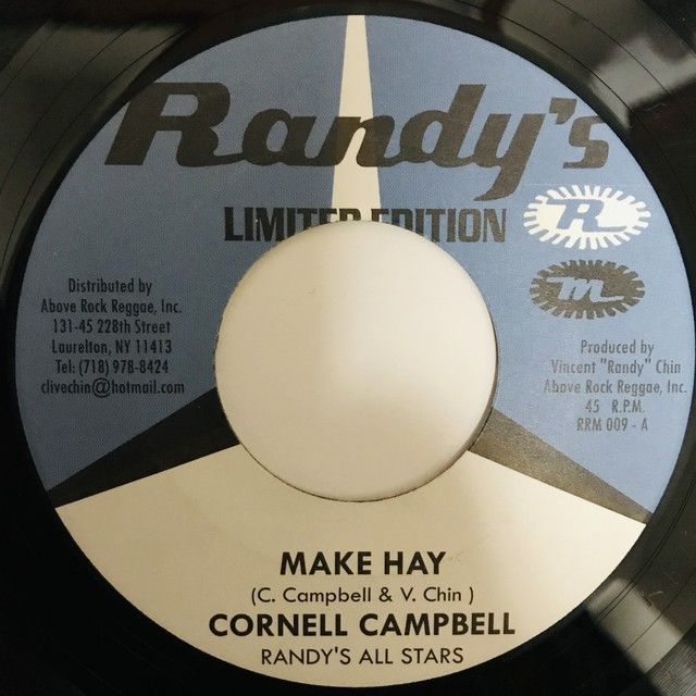 Cornell Campbell - Make Hay 【7-1115】