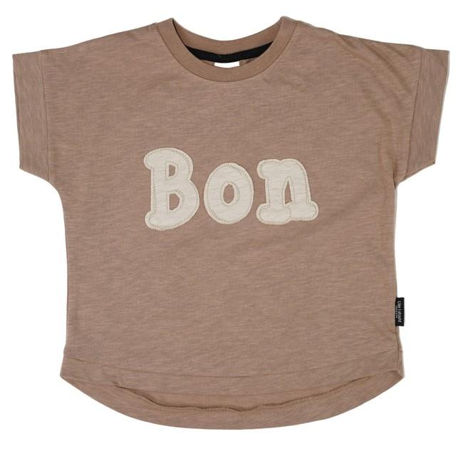 RIO ロゴアップリケワイドTシャツ