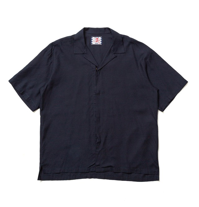 【SON OF THE CHEESE】Hook Shirt / NAVY
