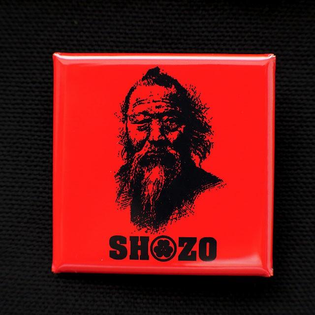 缶バッジ スクエア SHOZO
