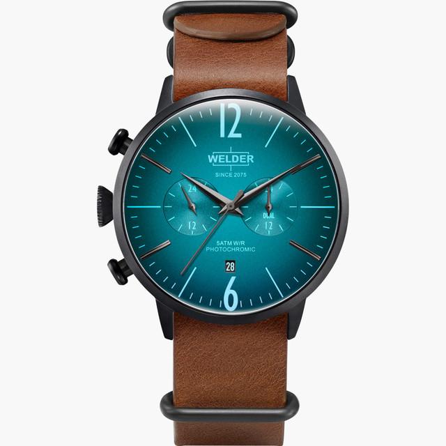 【WELDER ウェルダー】MOODY DUAL TIME 45mm WWRC503 / ムーディー デュアルタイム スイスメイド腕時計