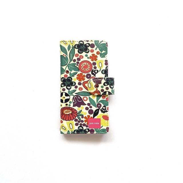 北欧デザイン iPhone手帳型ケース  | tulip