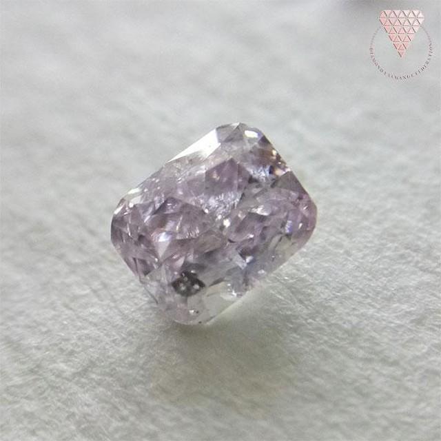 0.221 ct F.L.Pur.Pink 天然 ピンク ダイヤモンド