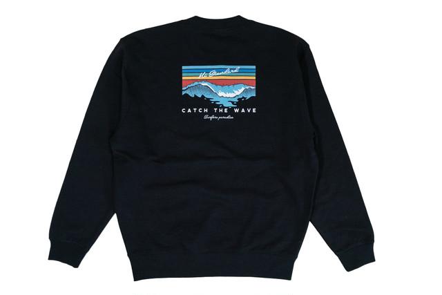 【catch the wave sweat】/ black