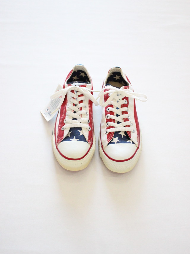 1990'S Deadstock Converse All Start Basketball MADE IN THE U.S.A. Low 6