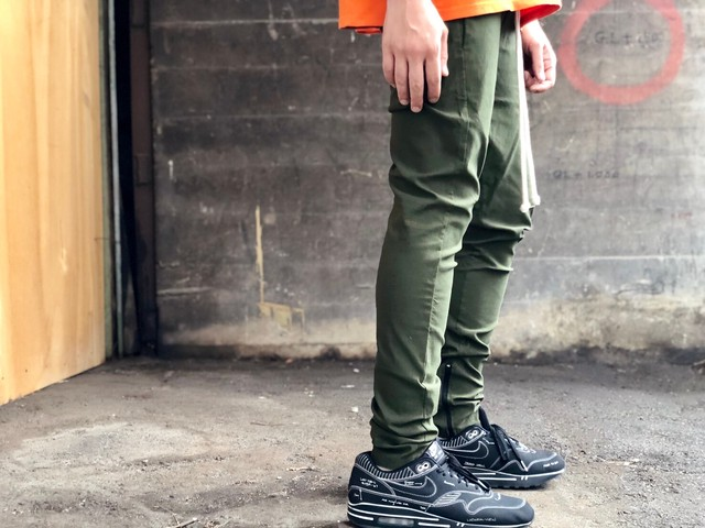 EPTM DRAWCORD TRACK PANT OLIVE LARGE 10HD4063