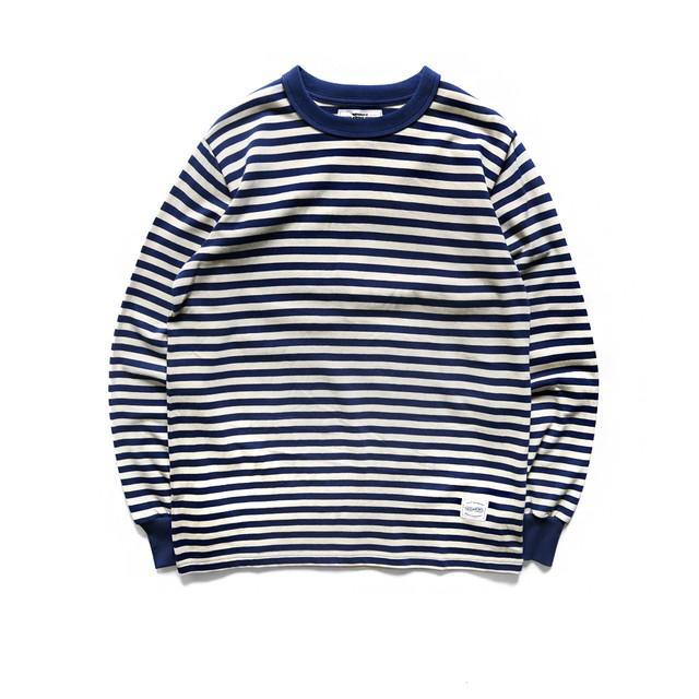 American vintage L/SボーダーT-shirt