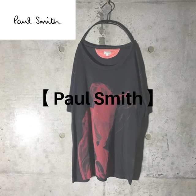 [Paul Smith] red mode designed T-shirt