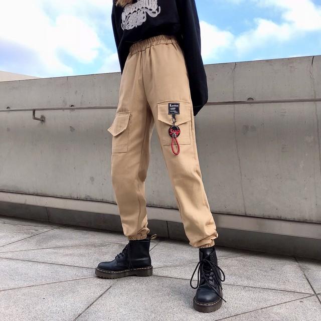 【bottoms】人気ファッションbf風ルーズ合わせやすいカジュアルパンツ