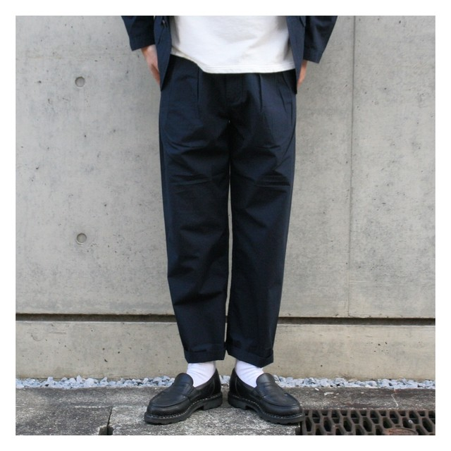 UNIVERSAL WORKS / DOUBLE PLEAT PANT