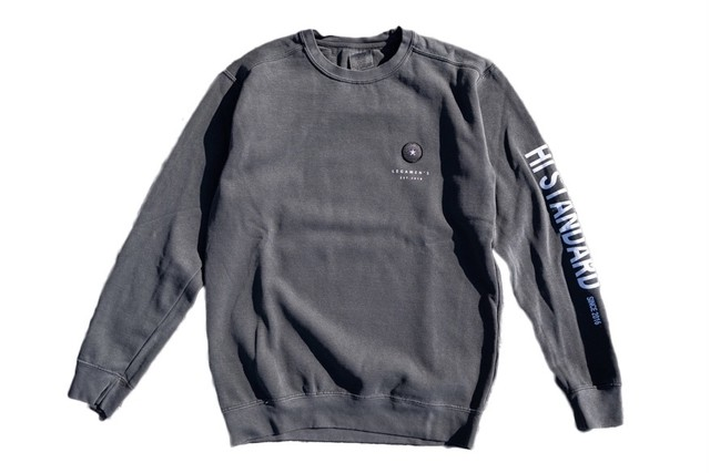 【vintage wappen sweat】/ black
