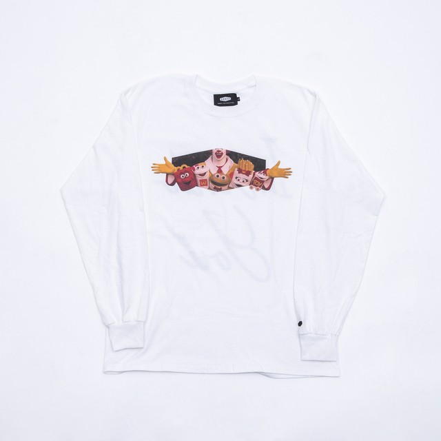 Crate Hood T-shirt - White -
