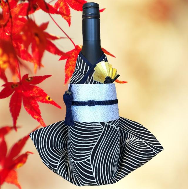 Kimonoボトルカバー 波