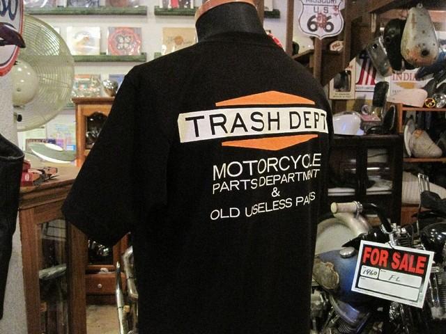 TRASH DEPT オリジナルTシャツ  タイプA ブラック
