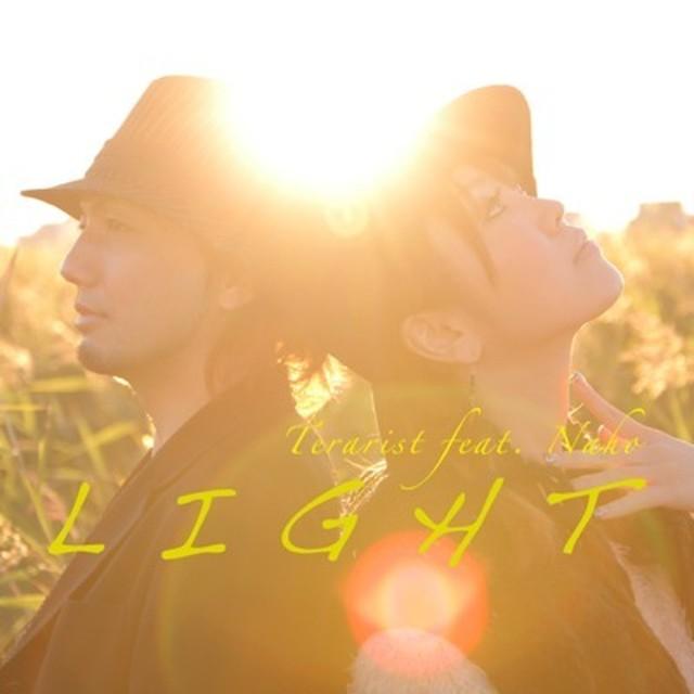 てらりすと 1st Single『L I G H T』feat.Naho(CD版) - メイン画像