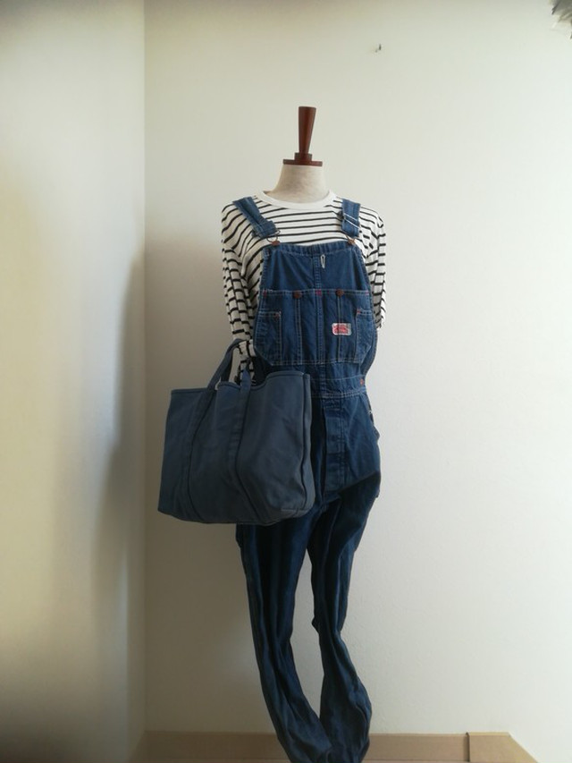 BASIC TOTE (M) 舛花色 (smoky blue)