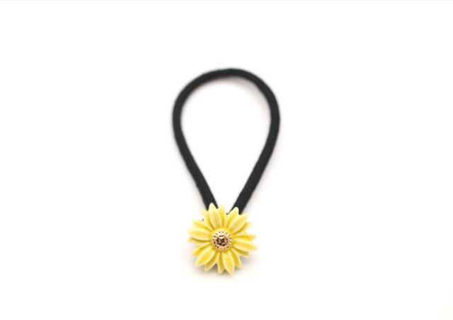 有田焼 ヘアゴム  daisy 黄色