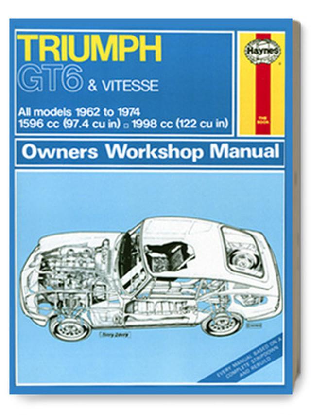 トライアンフ・GT6 & ヴィテス・オーナーズ・ワークショップ・マニュアル