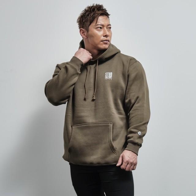 pullover parka (OLIVE)