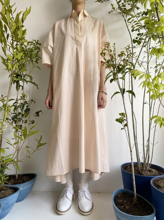 """Over Size Dress """"madder red"""" Natural dyed"""